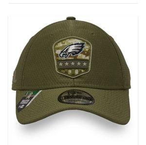 NWT Philadelphia Eagles Salute to Service hat /cap